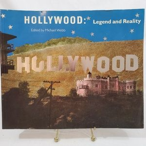 Hollywood Legend and Reality Book Smithsonian NWT